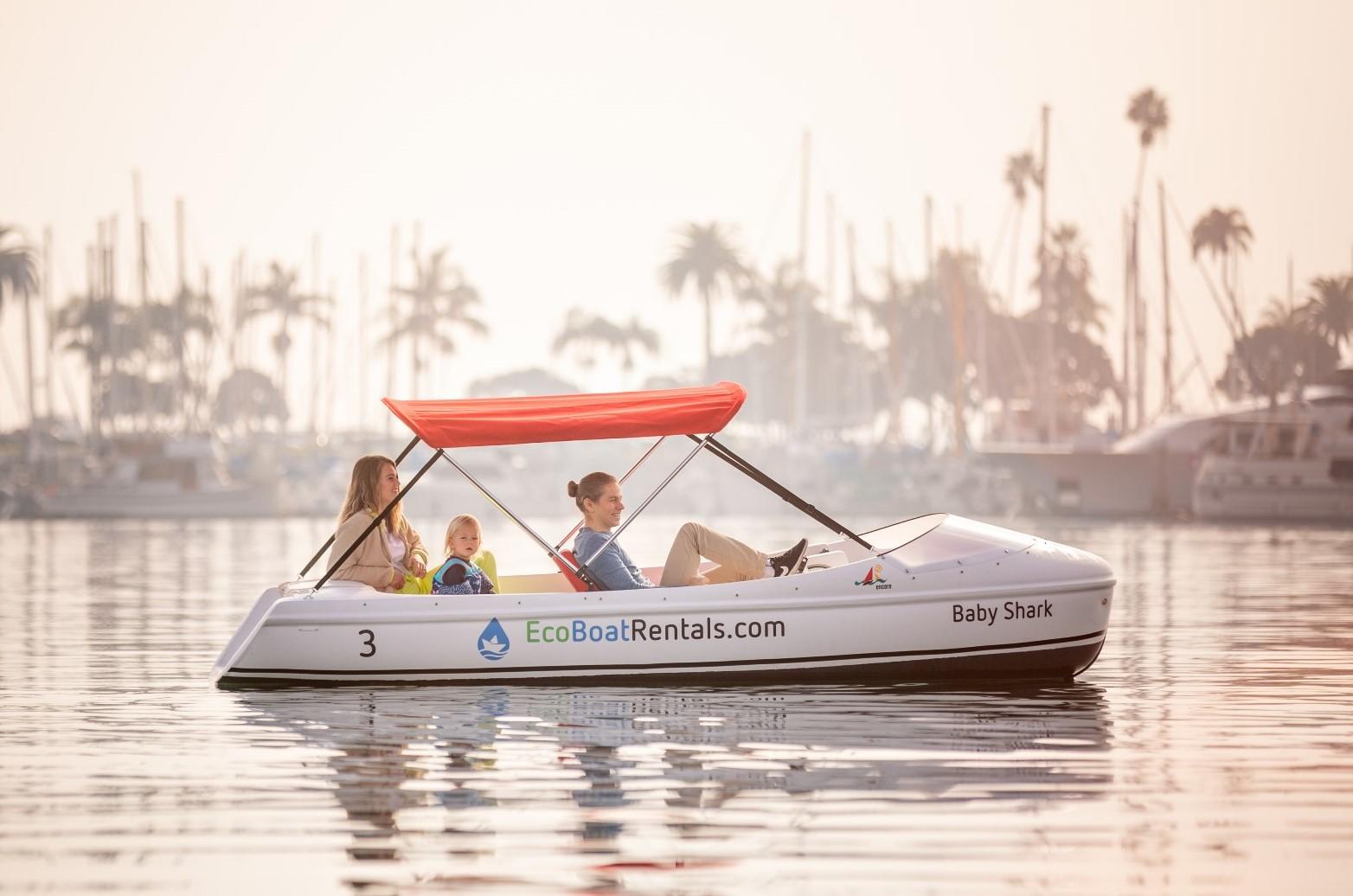 Eco Boat Rentals Pedal Boat
