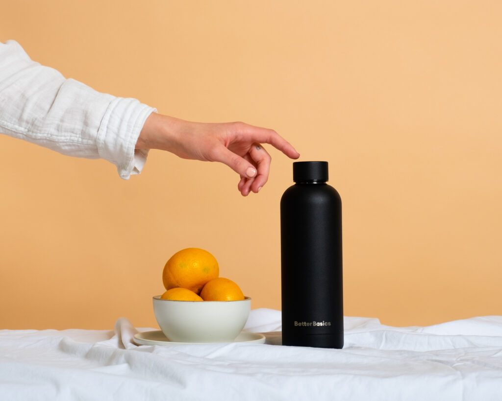Better Basics reusable water bottle