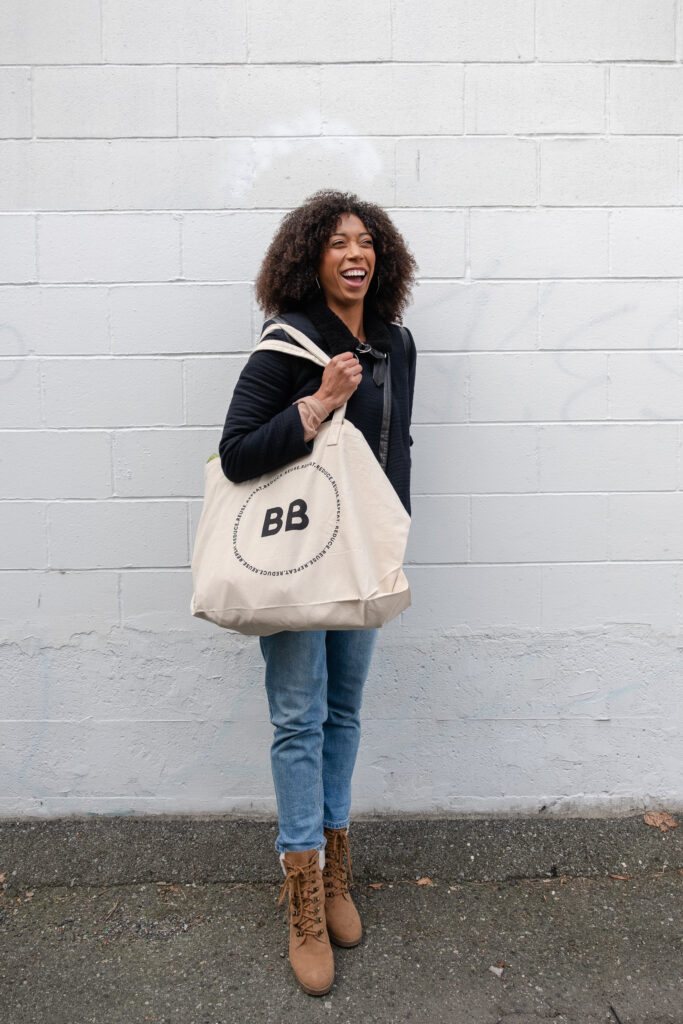 Better Basics tote bag