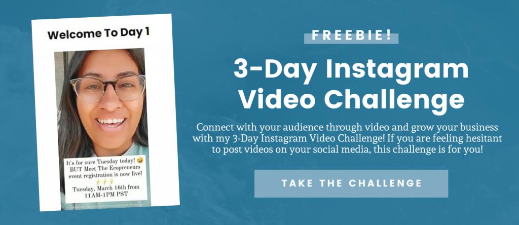 3-Day Instagram Video Challenge