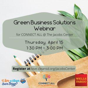 Green Business Solutions Webinar